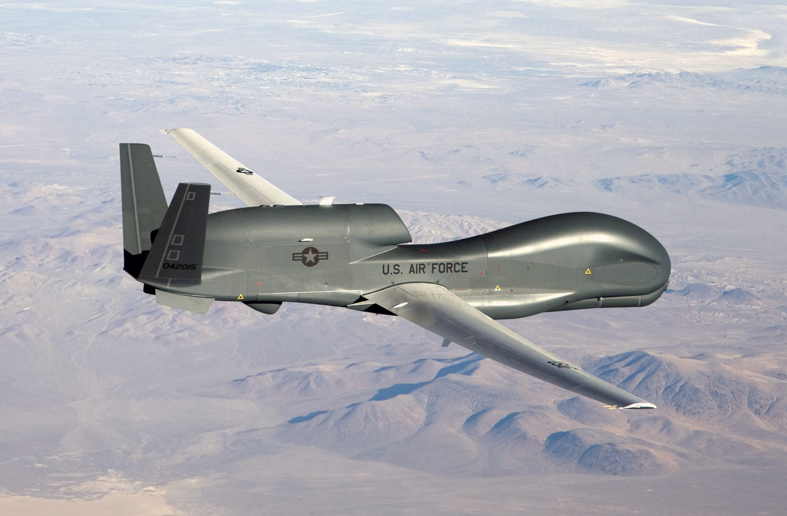 Global Hawk flying environmental mapping missions in Latin America, Caribbean