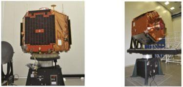 Spacecraft in Vertical Orientation on KSR6000